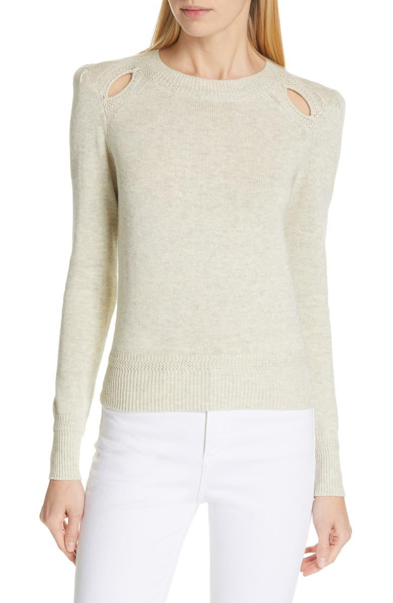 Klee Shoulder Cutout Sweater