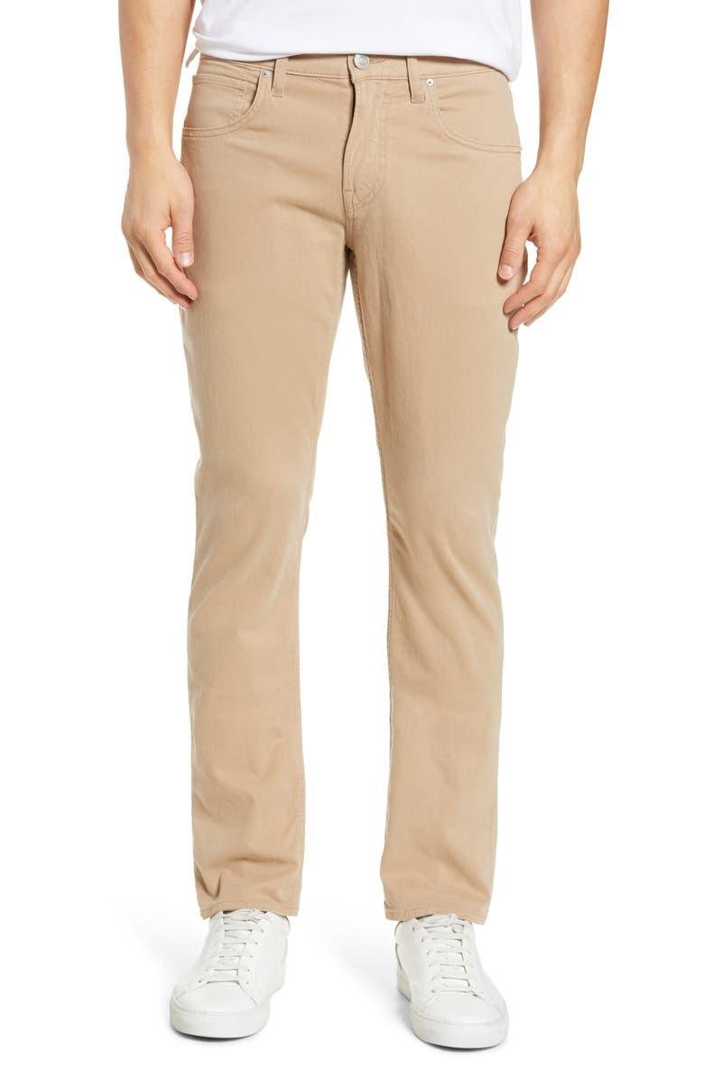 HUDSON JEANS Blake Slim Fit Jeans, Main, color, QUICKSAND