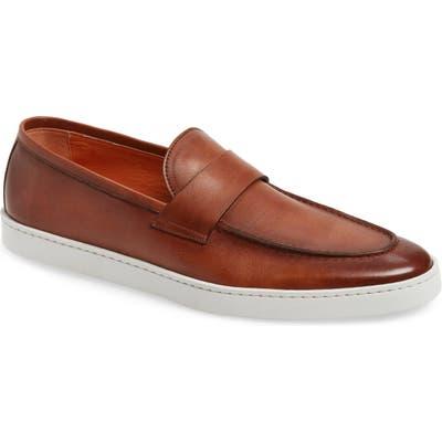 Santoni Pace Slip-On, Brown
