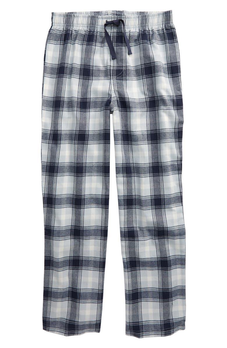 TUCKER + TATE Plaid Flannel Pants, Main, color, 415