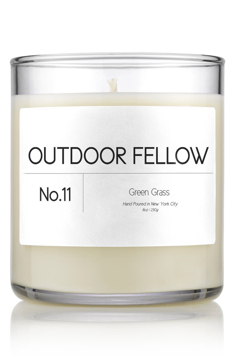 OUTDOOR FELLOW No.11 Green Grass Scented Candle, Main, color, GREEN GRASS
