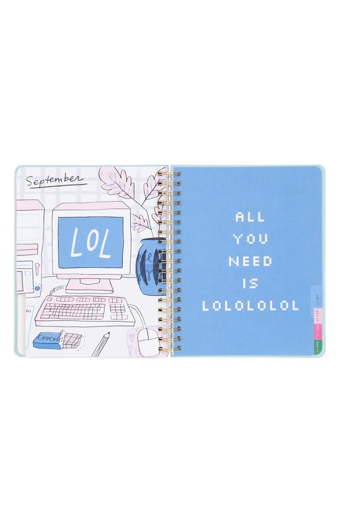 ,                             Large Hardcover 17-Month Agenda,                             Alternate thumbnail 5, color,                             100