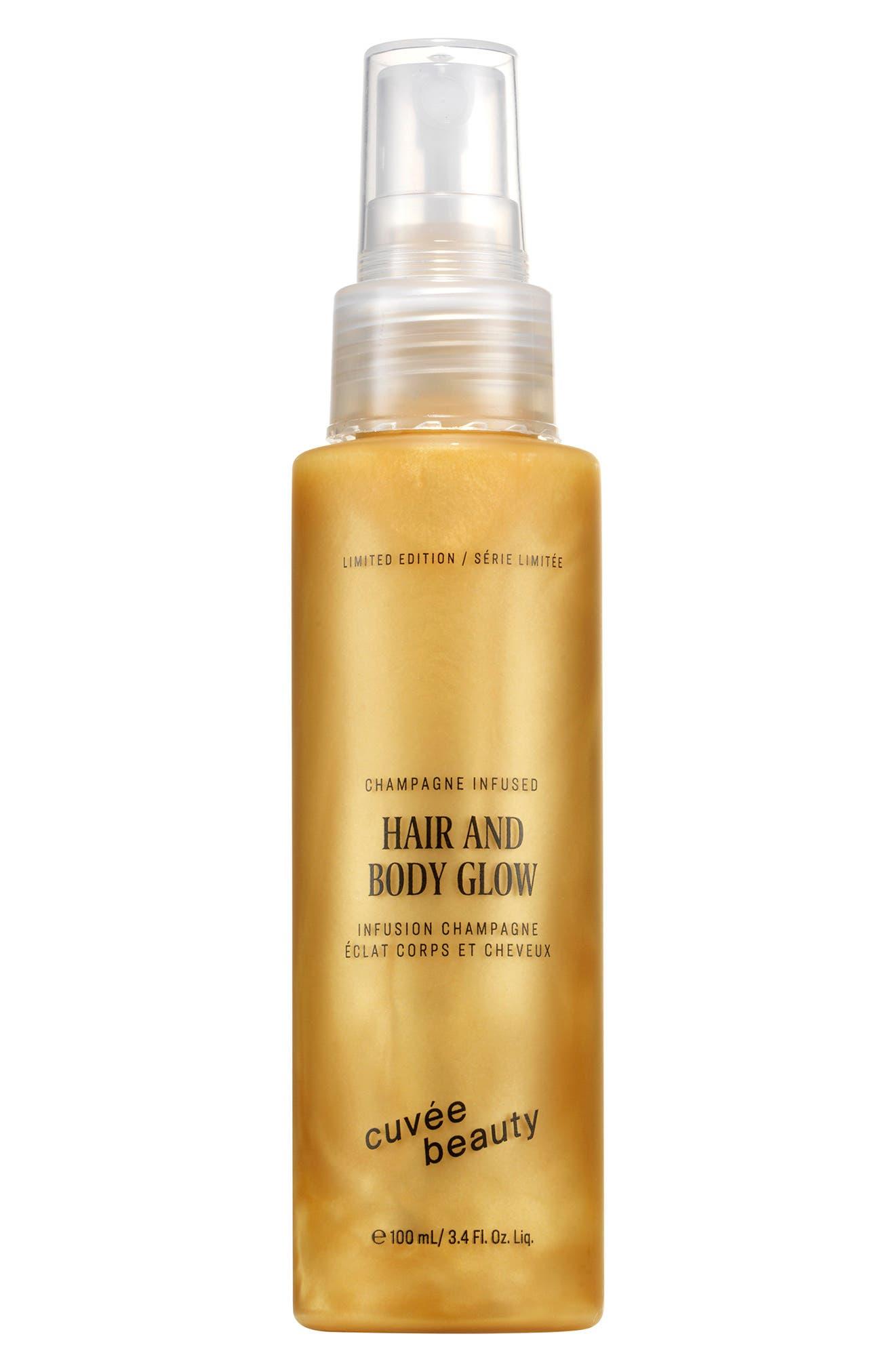 Hair & Body Glow Oil Spray