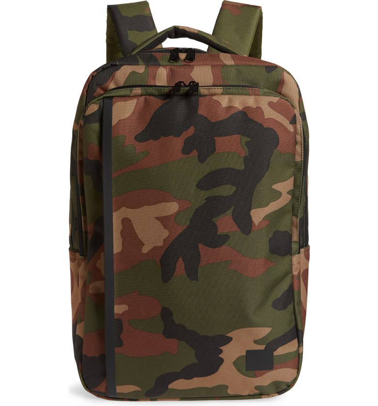 HERSCHEL SUPPLY CO. Travel Backpack, Main, color, WOODLAND CAMO