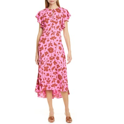 Kate Spade New York Splash Midi Dress, Pink