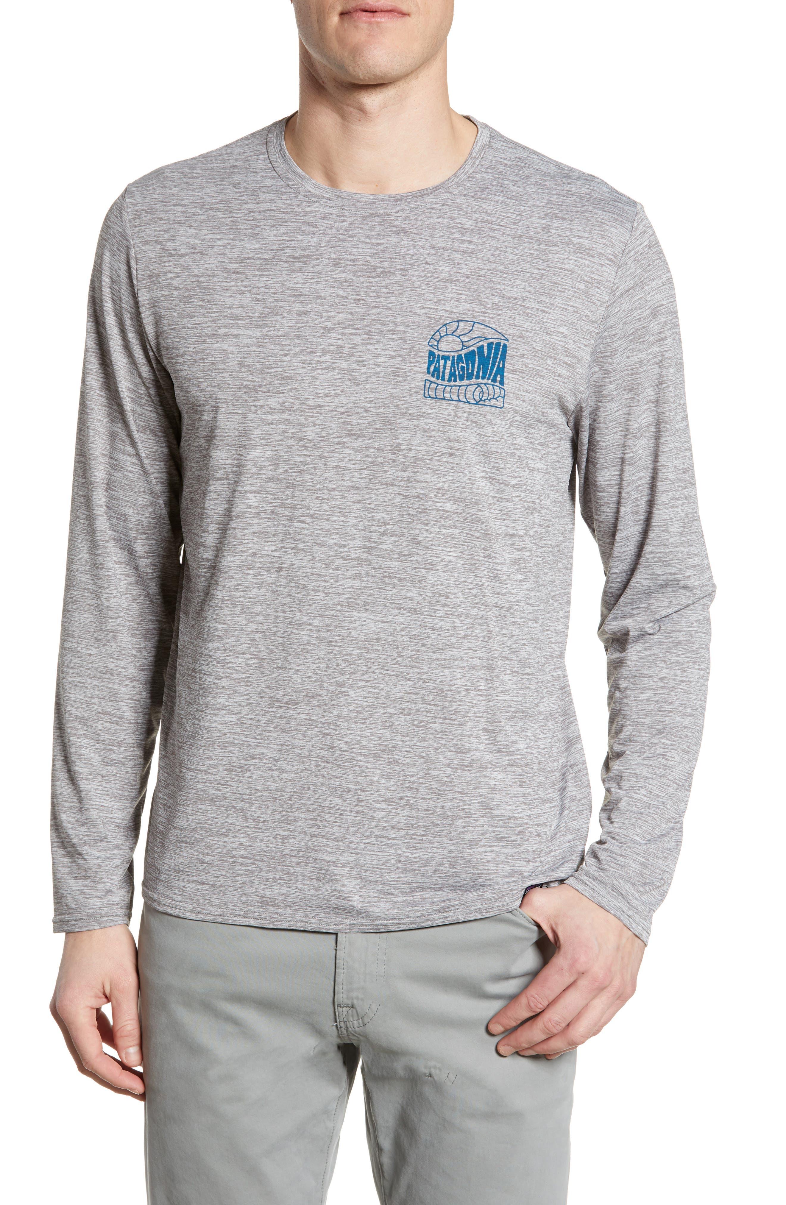 Patagonia Capilene Cool Daily Long Sleeve T-Shirt, Grey