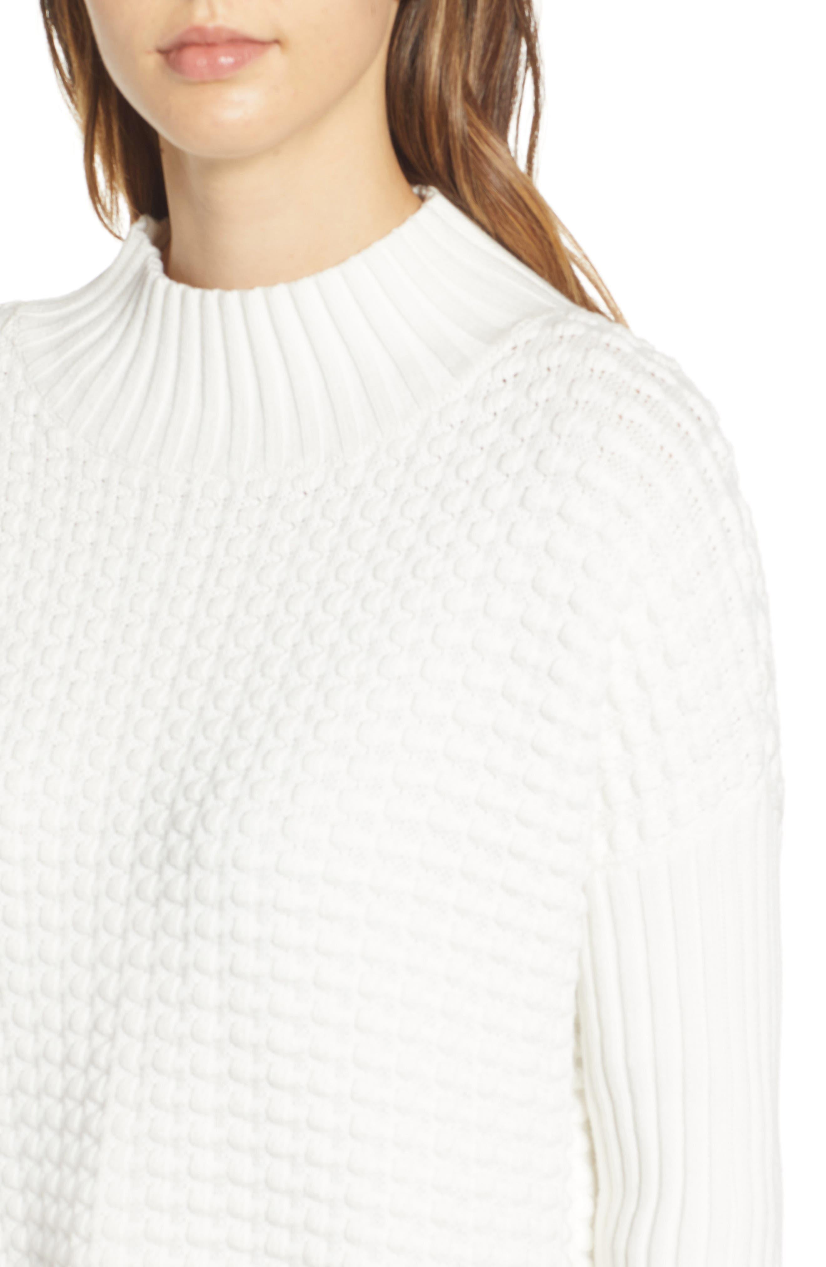 ,                             Mozart Popcorn Sweater,                             Alternate thumbnail 4, color,                             110