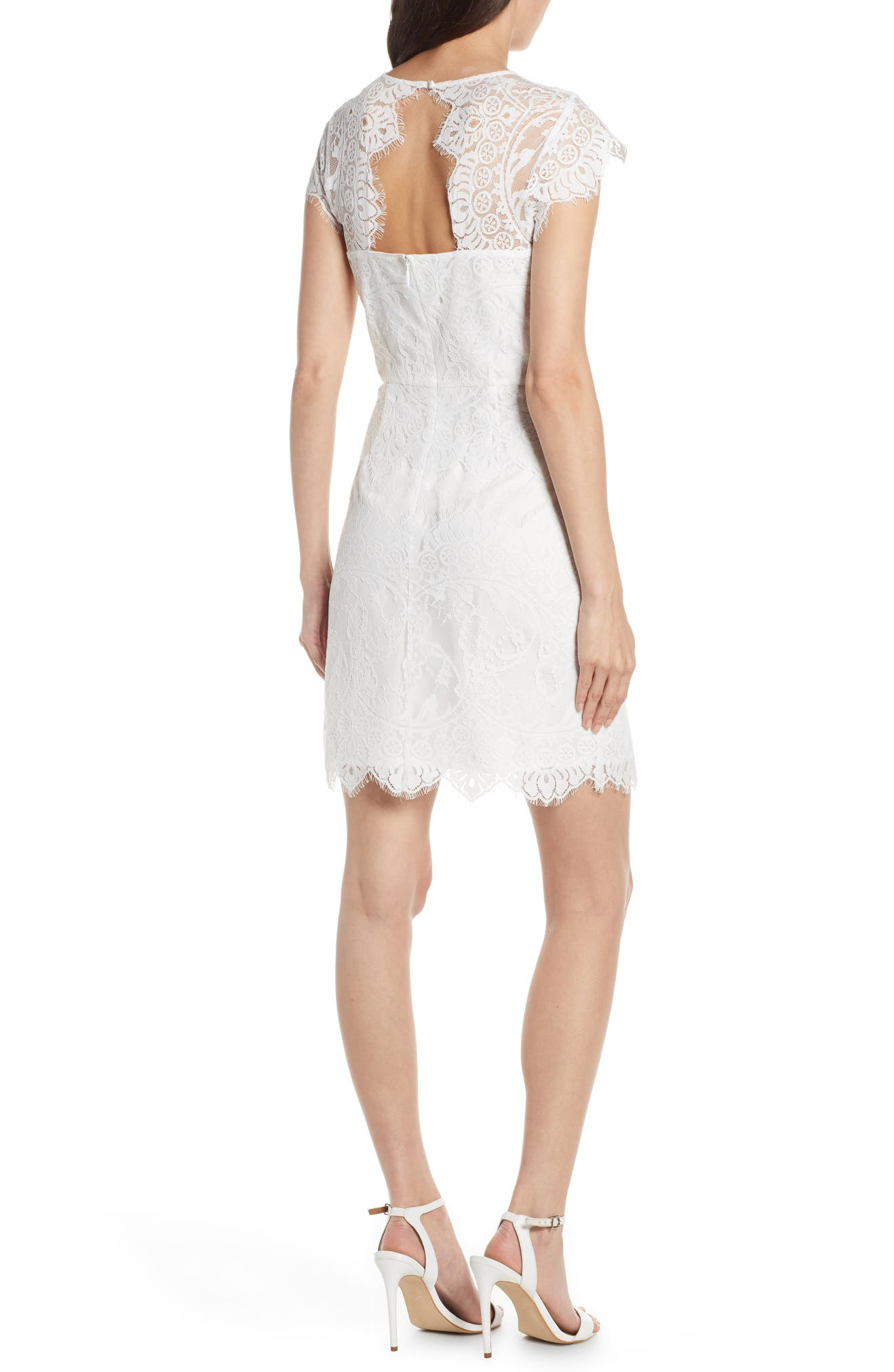 2112cb62 BB Dakota Jayce Lace Sheath Cocktail Dress | Nordstrom