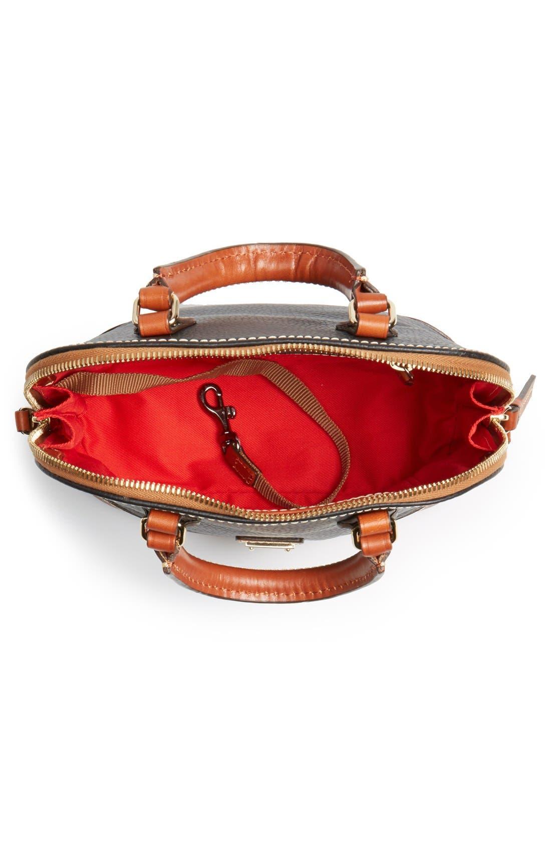 ,                             'Bitsy' Leather Crossbody Bag,                             Alternate thumbnail 2, color,                             001
