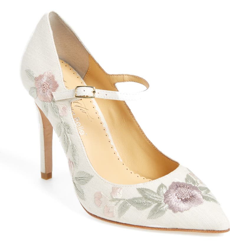 BELLA BELLE Adelaide Embroidered Pump, Main, color, 101