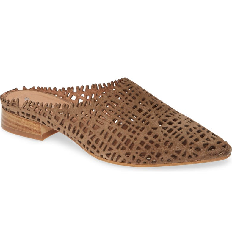 RON WHITE Tawny Perforated Mule, Main, color, ANTELOPE