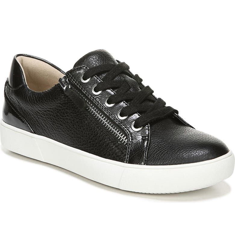 NATURALIZER Macayla Sneaker, Main, color, BLACK LEATHER