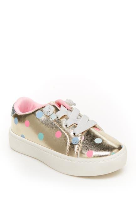 Image of Carter's East Metallic Dot Slip-On Sneaker