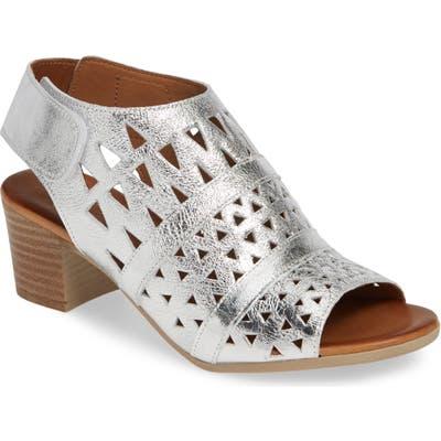 Sheridan Mia Tamsie1 Perforated Sandal - Metallic