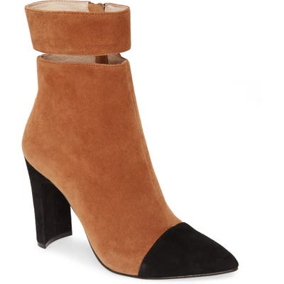 42 Gold Kiki Pointed Toe Bootie- Brown