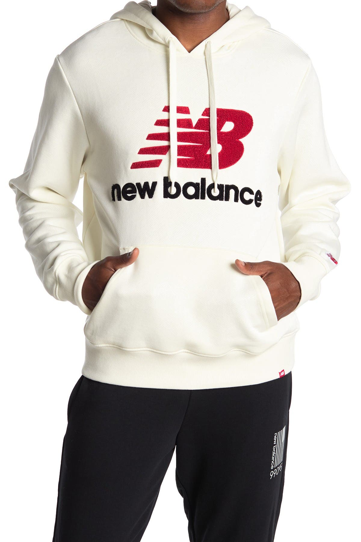 Image of New Balance Athletic Drawstring Pullover Hoodie