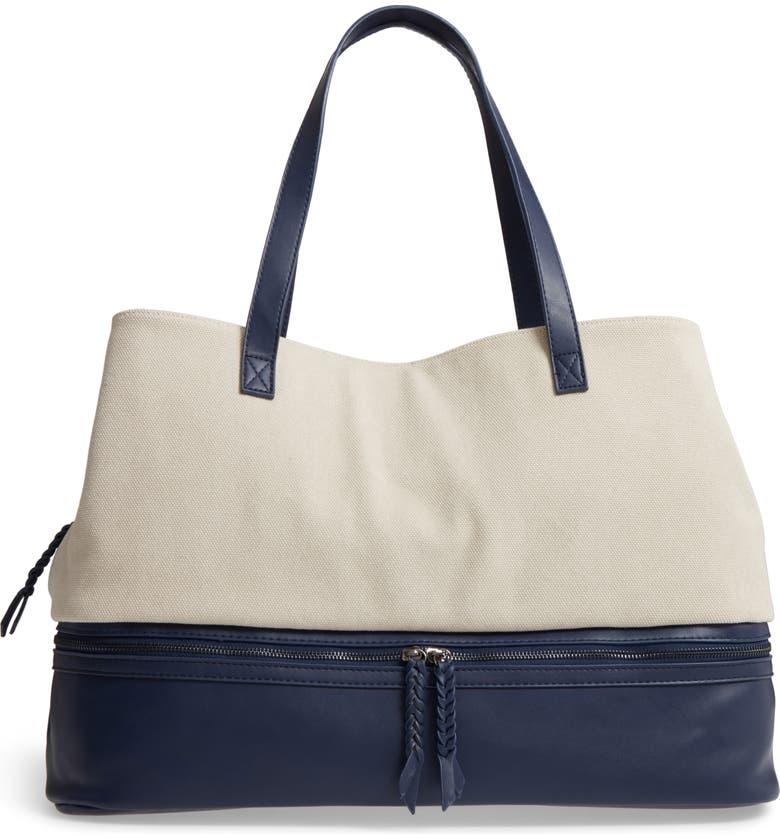 Two Toned Weekender Bag