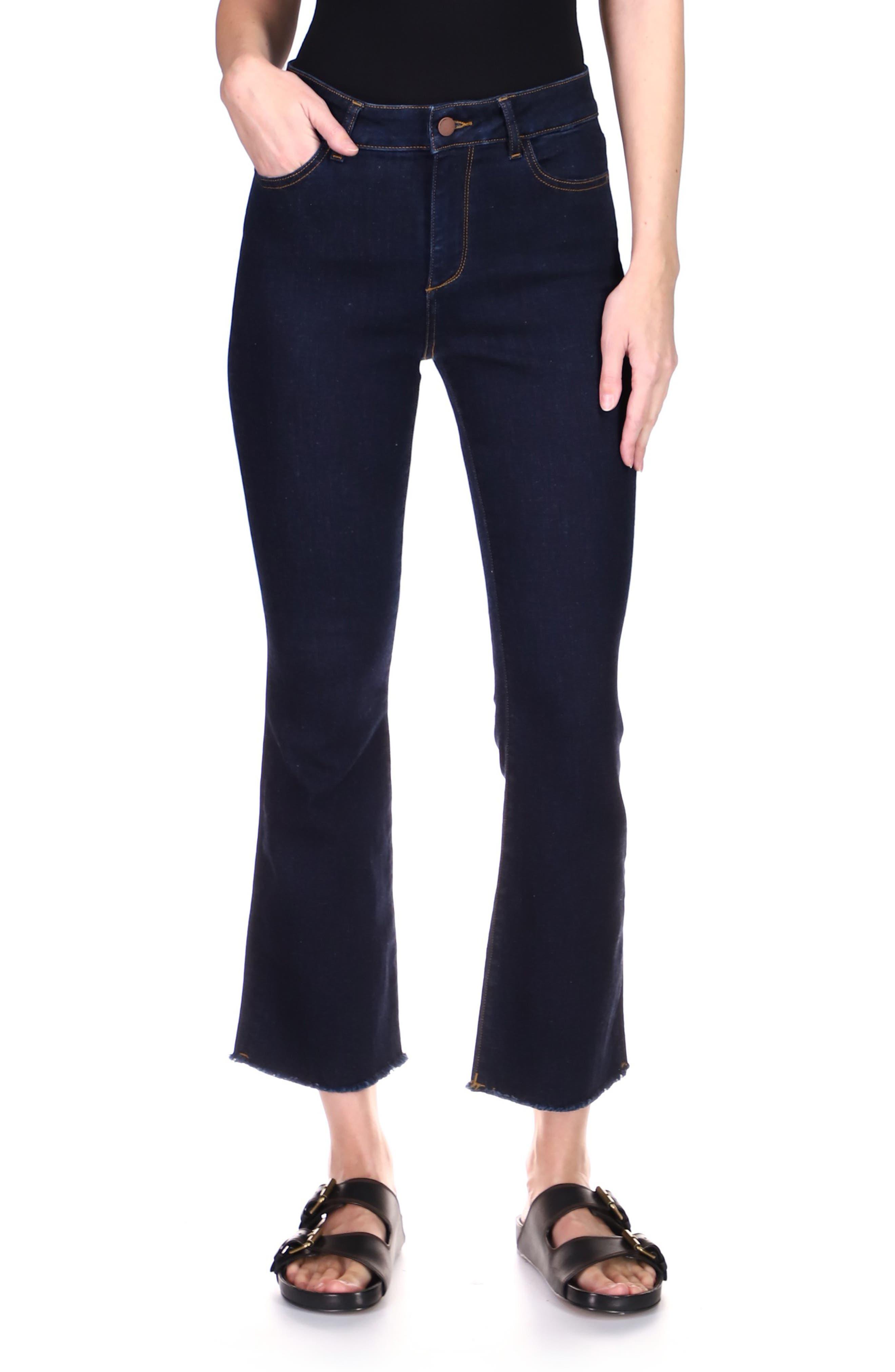 1961 Bridget Instasculpt High Waist Crop Bootcut Jeans