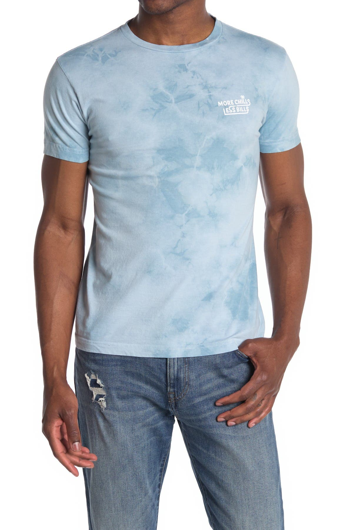 Image of Barney Cools More Chills Less Bills Tie-Dye T-Shirt