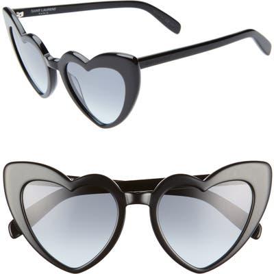 Saint Laurent Loulou 5m Heart Sunglasses -
