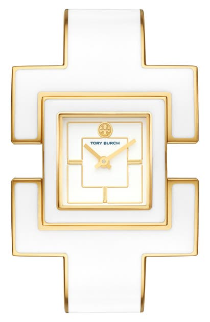Tory Burch Watches T BANGLE BRACELET WATCH, 25MM X 25MM