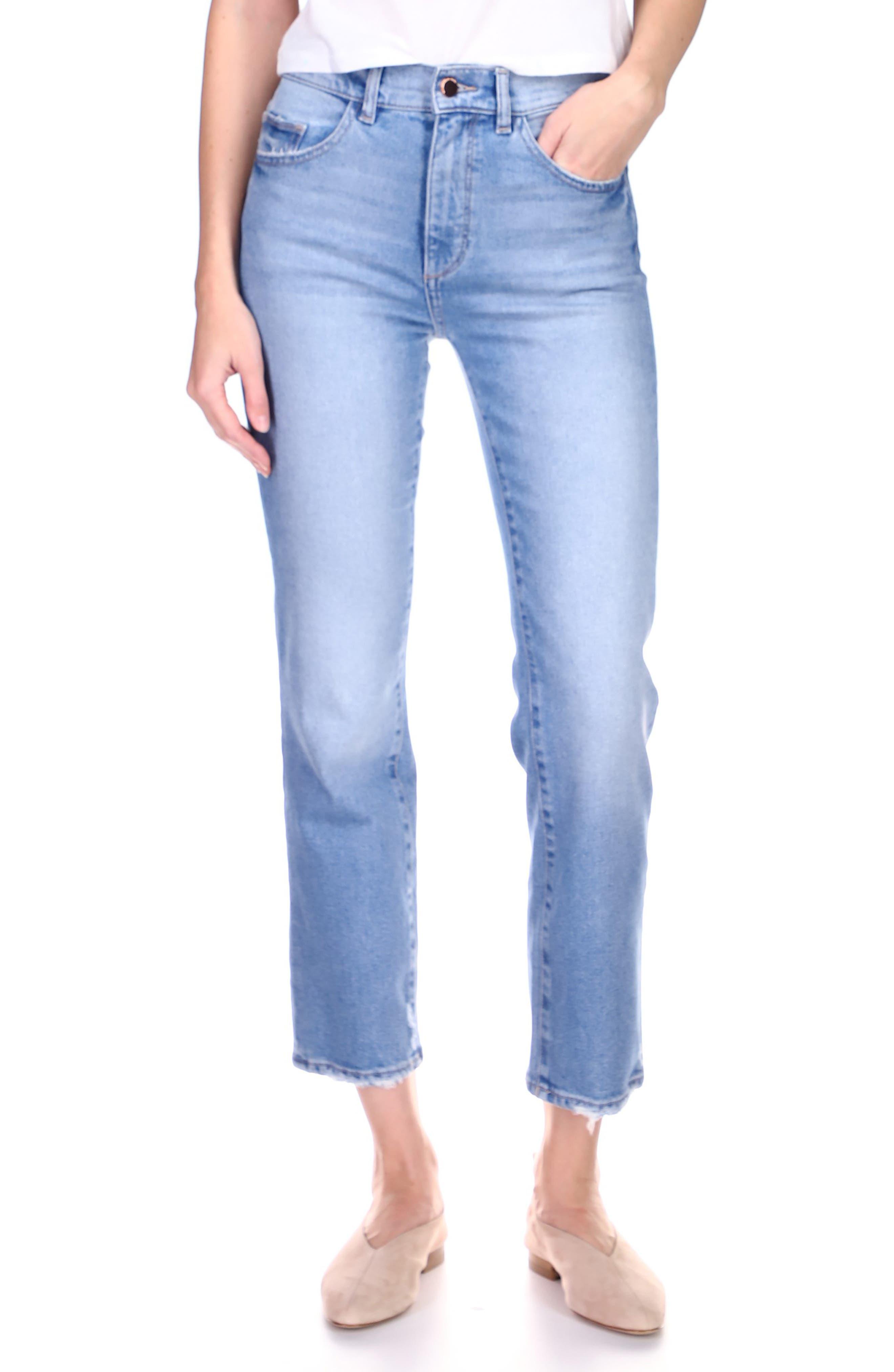 1961 Patti High Waist Ankle Straight Leg Jeans