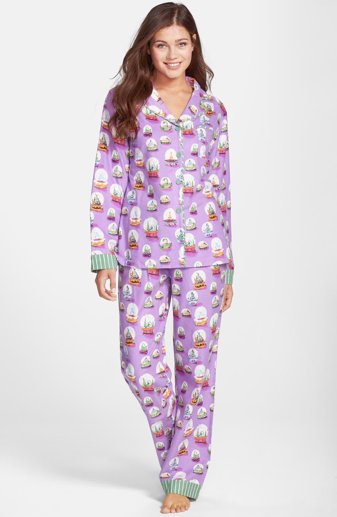 ,                             Flannel Pajamas,                             Main thumbnail 55, color,                             501