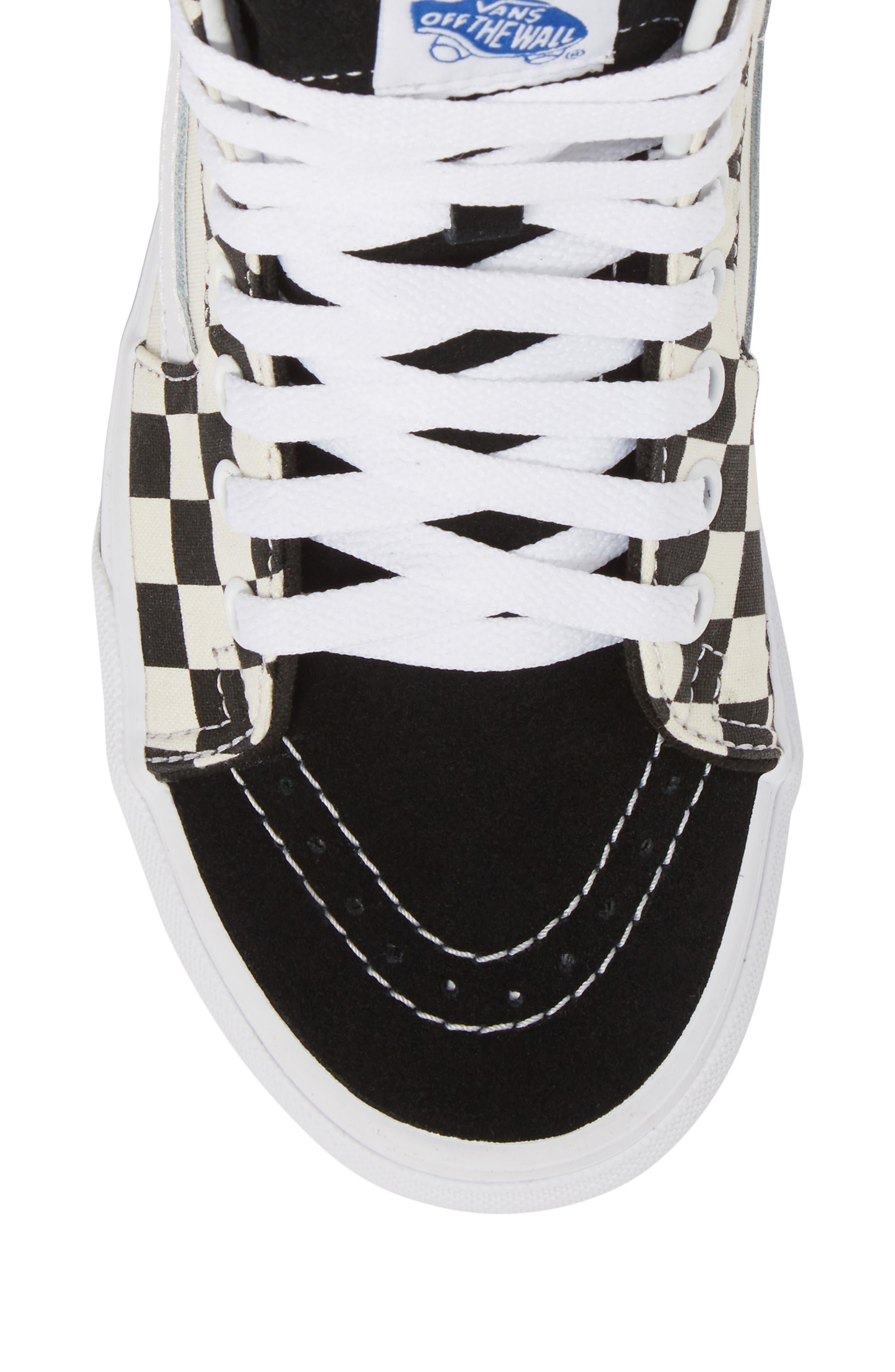 ,                             Sk8-Hi Checker Sneaker,                             Alternate thumbnail 21, color,                             100