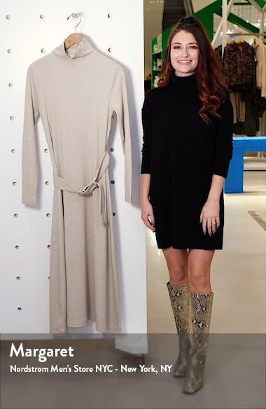 Melissah Knit Long Sleeve Midi Dress, sales video thumbnail