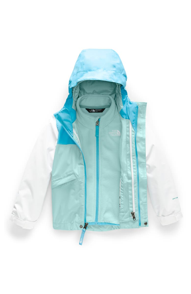 THE NORTH FACE Snowquest TriClimate<sup>®</sup> Waterproof 3-in-1 Jacket, Main, color, WINDMILL BLUE