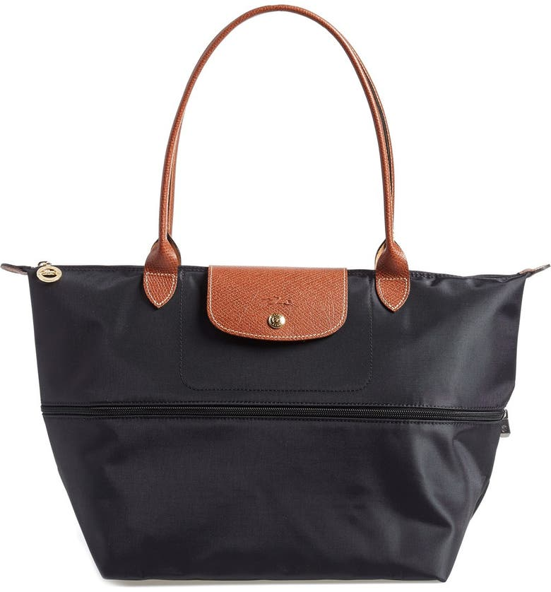 LONGCHAMP Le Pliage Expandable Tote, Main, color, 001