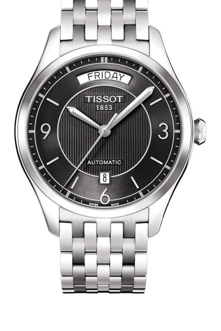 Image of Tissot Men's T-One Automatic Stainless Steel Watch, 37mm