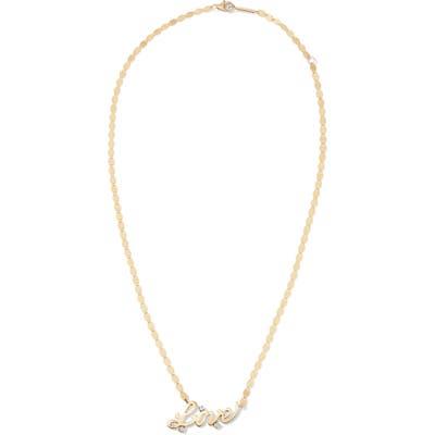 Lana Jewelry Love Diamond Necklace