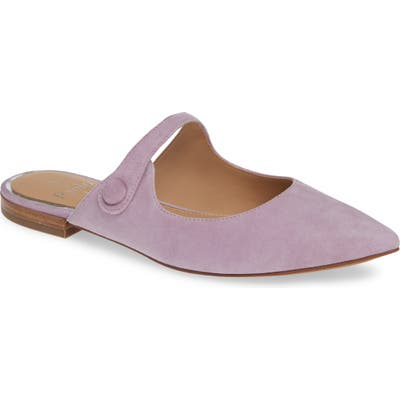 Linea Paolo Darling Open Top Mule, Purple