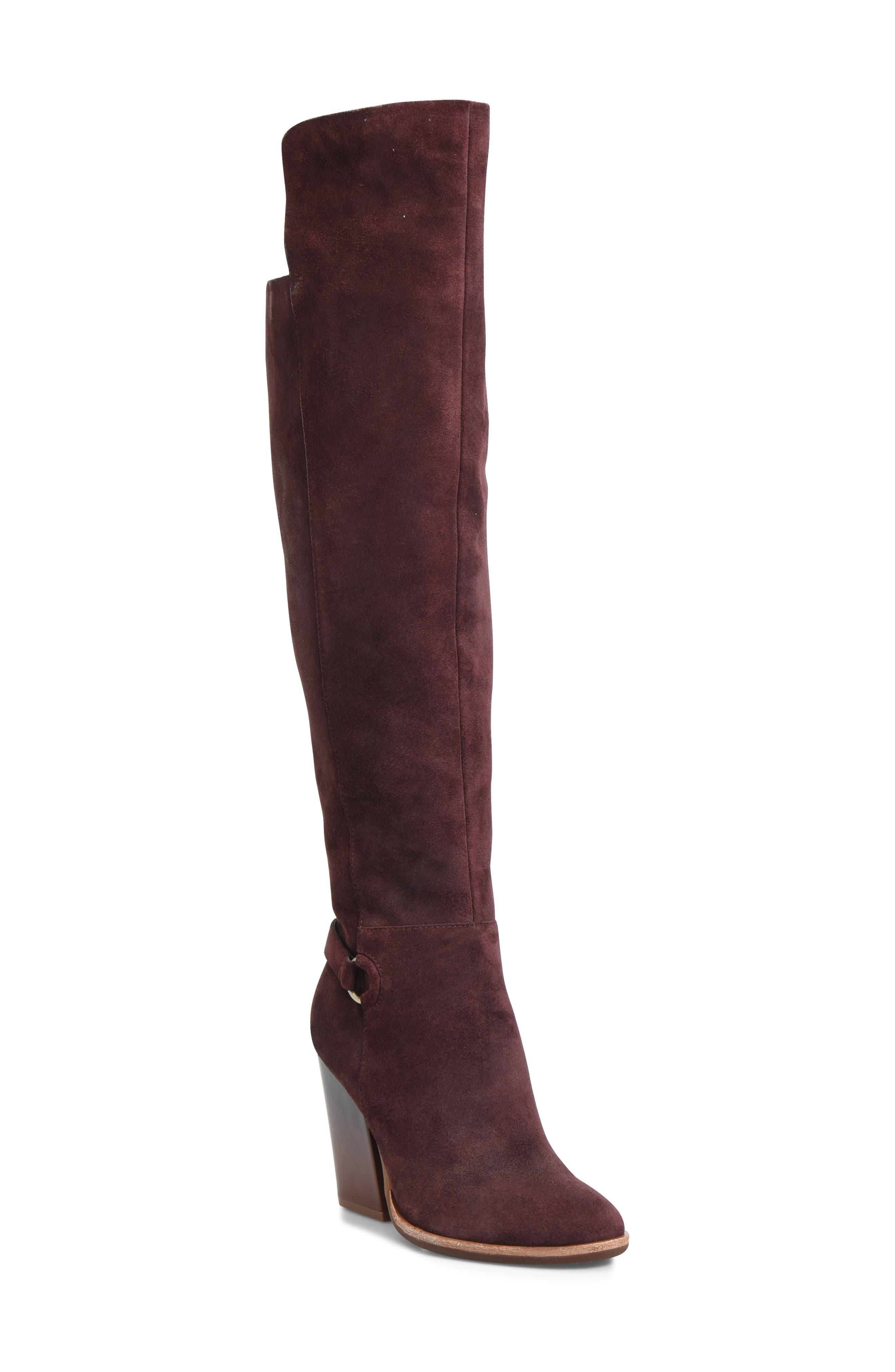 Kork-Ease Pavan Knee High Boot- Burgundy