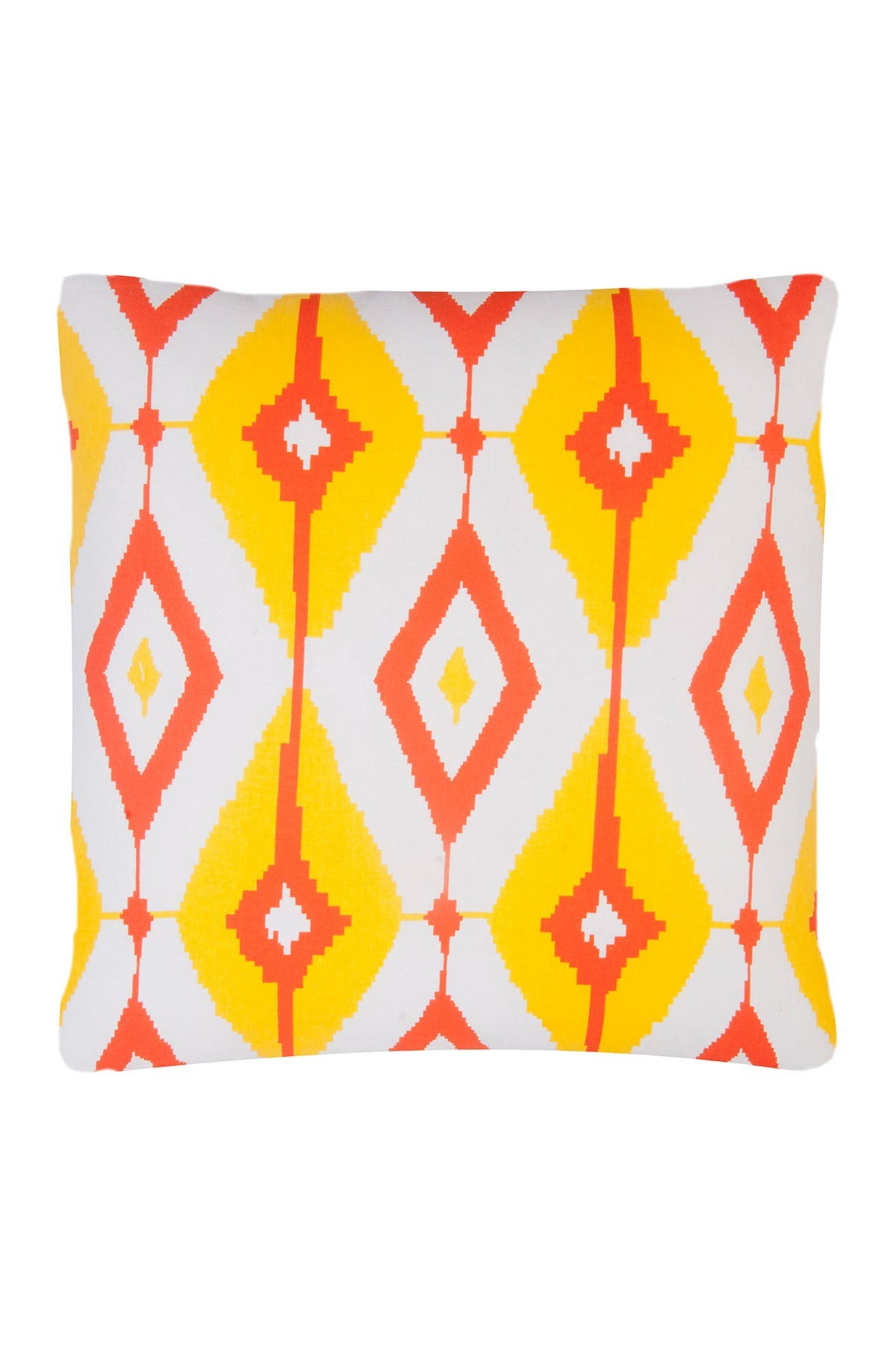 Divine Home Yellow Orange Helios Throw Pillow 20 X20 Nordstrom Rack