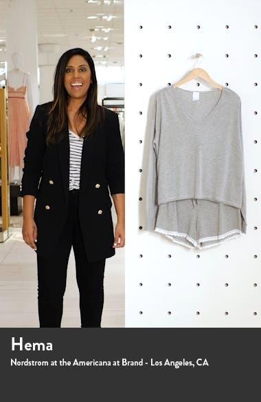 Crush on You Lace Trim Shorts Pajamas, sales video thumbnail