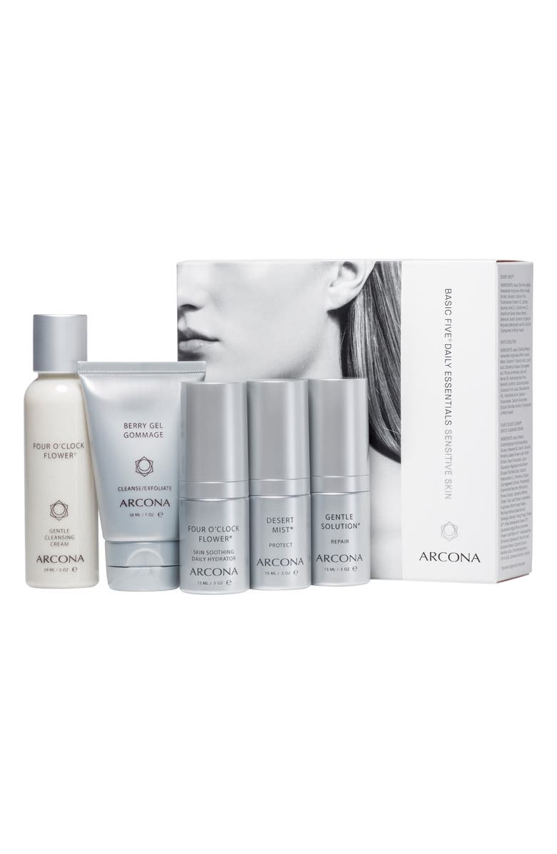 ARCONA Sensitive Skin Starter Kit, Main, color, NO COLOR