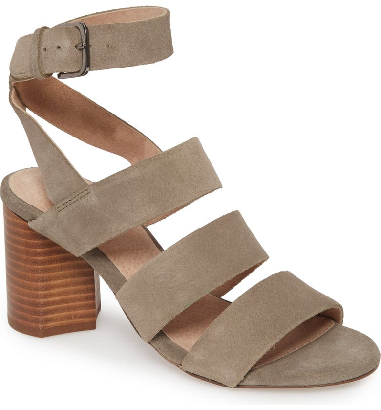 SEYCHELLES Antiques Strappy Sandal, Main, color, TAUPE SUEDE