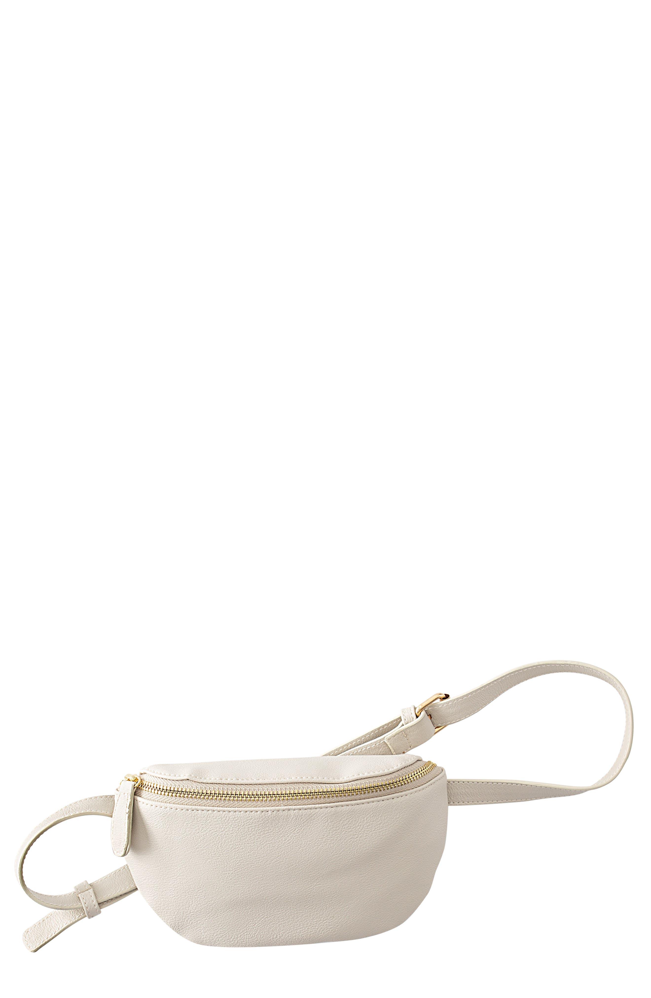 Monogram Vegan Leather Belt Bag