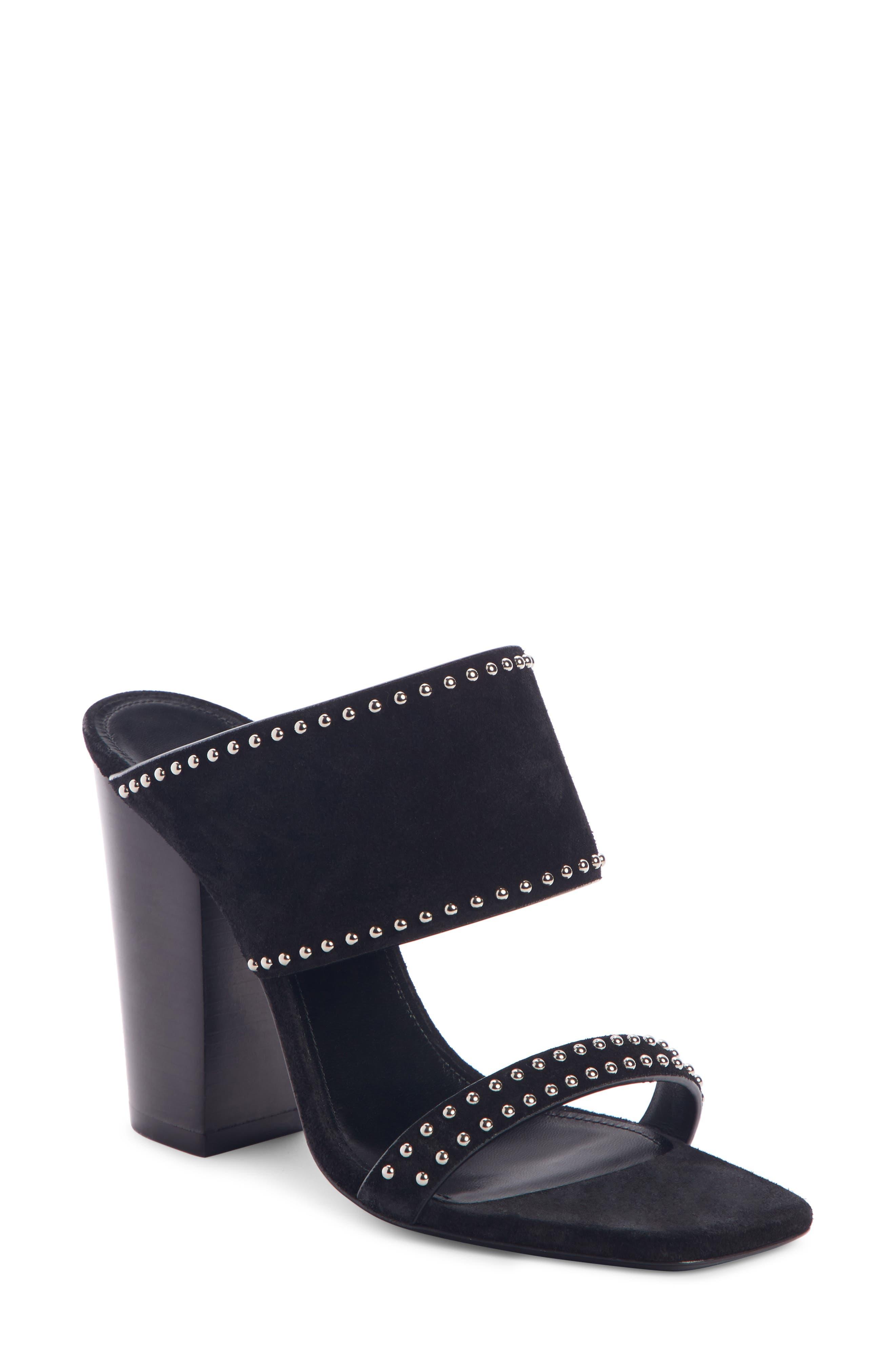 Saint Laurent Slippers Oak Double Band Mule Sandal