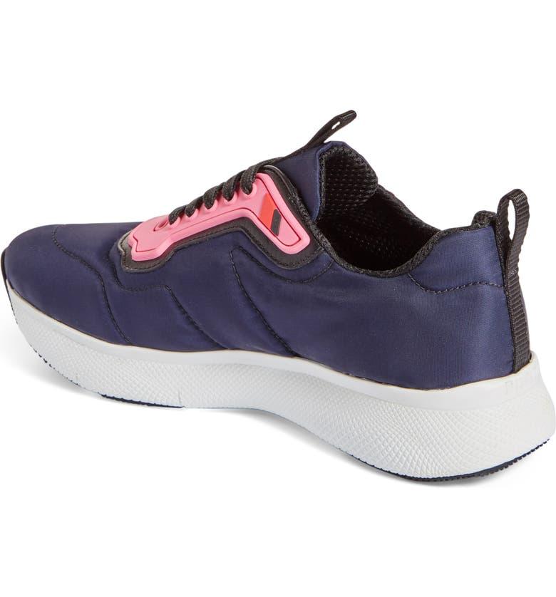 PRADA LINEA ROSSA Runner Sneaker, Main, color, 002