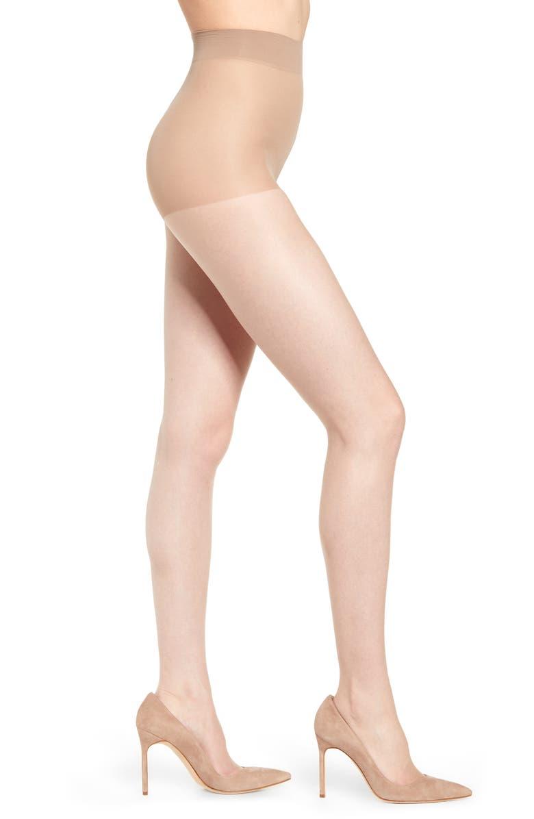 NATORI Ultra Bare 2-Pack Control Top Pantyhose, Main, color, NUDE