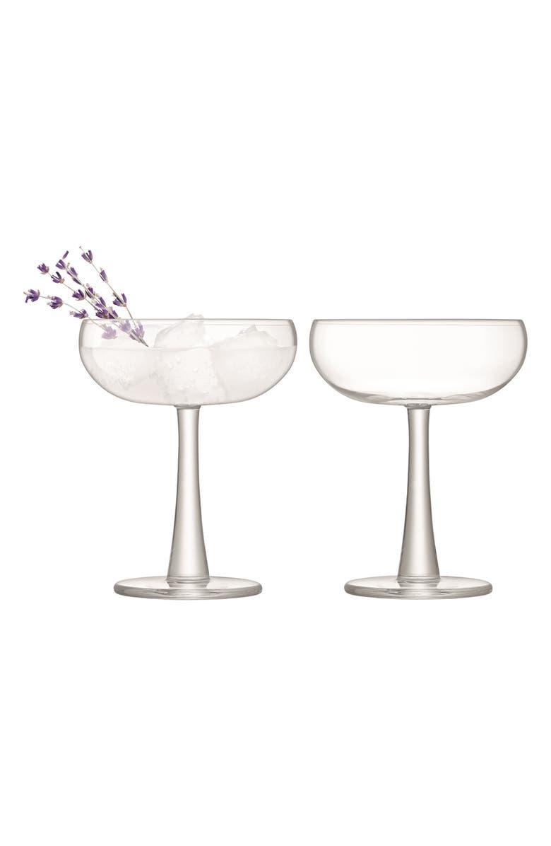 LSA Set Of 2 Coupe Glasses