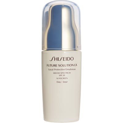 Shiseido Future Solution Lx Total Protective Emulsion Broad Spectrum Spf 20 Sunscreen