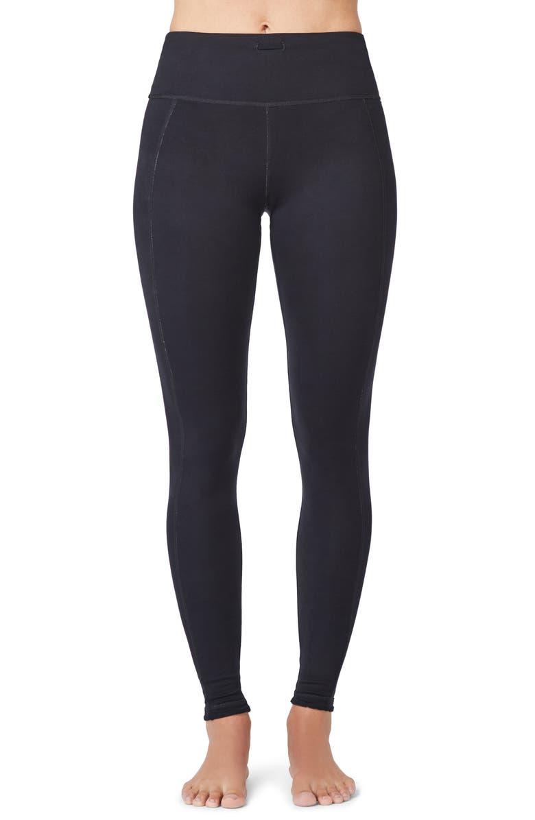 SWEATY BETTY Reversible Yoga Leggings, Main, color, BLACK CLOUD PRINT