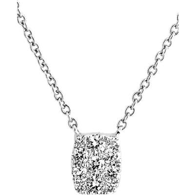 Bony Levy Mika Mini Rectangle Pave Diamond Pendant Necklace (Nordstrom Exclusive)