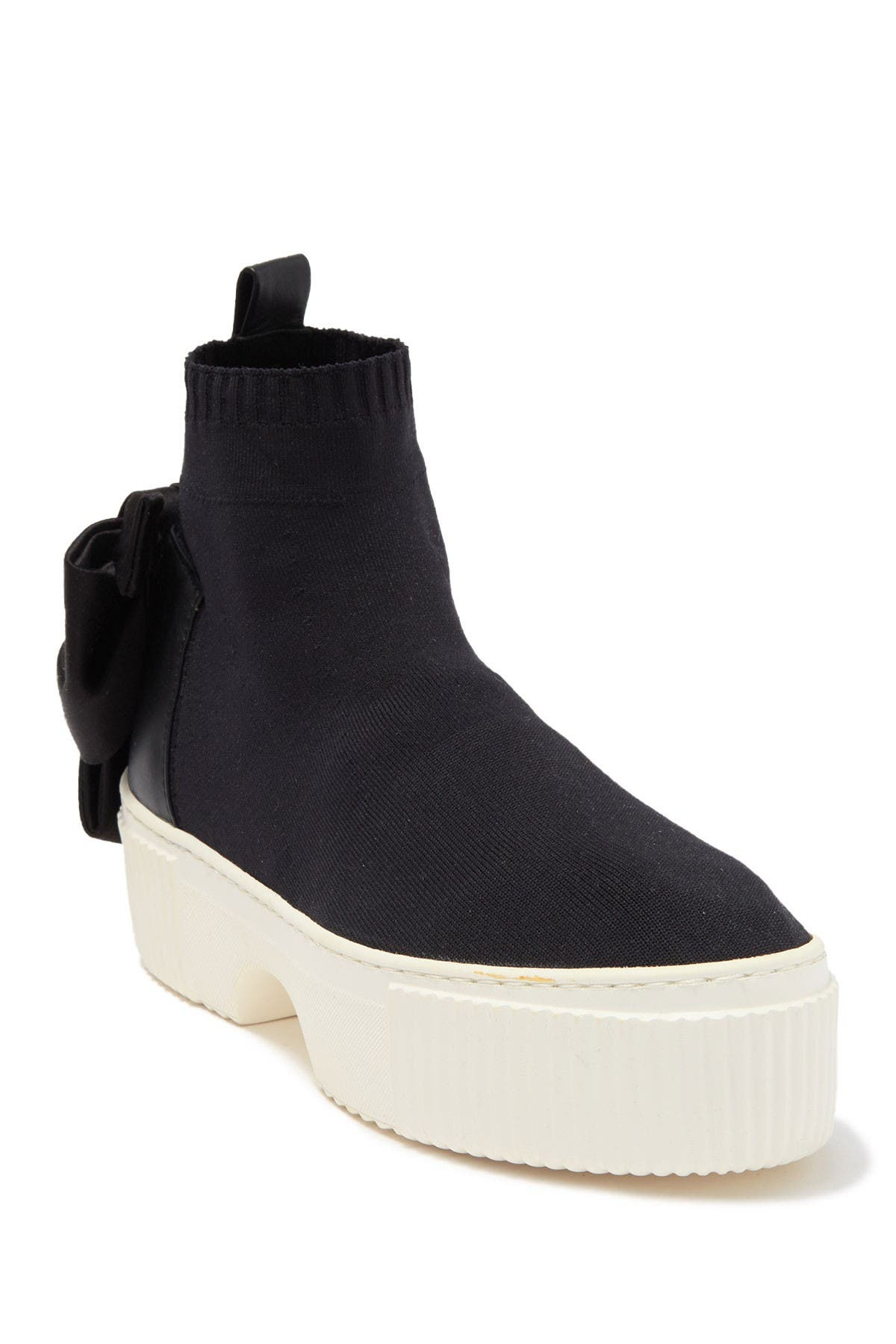 Image of AGL Platform Sock Cuff Sneaker