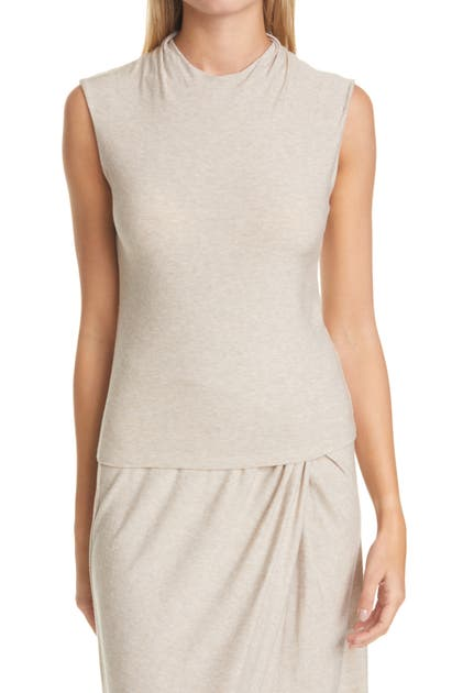 Vince Tops DRAPED NECK TOP