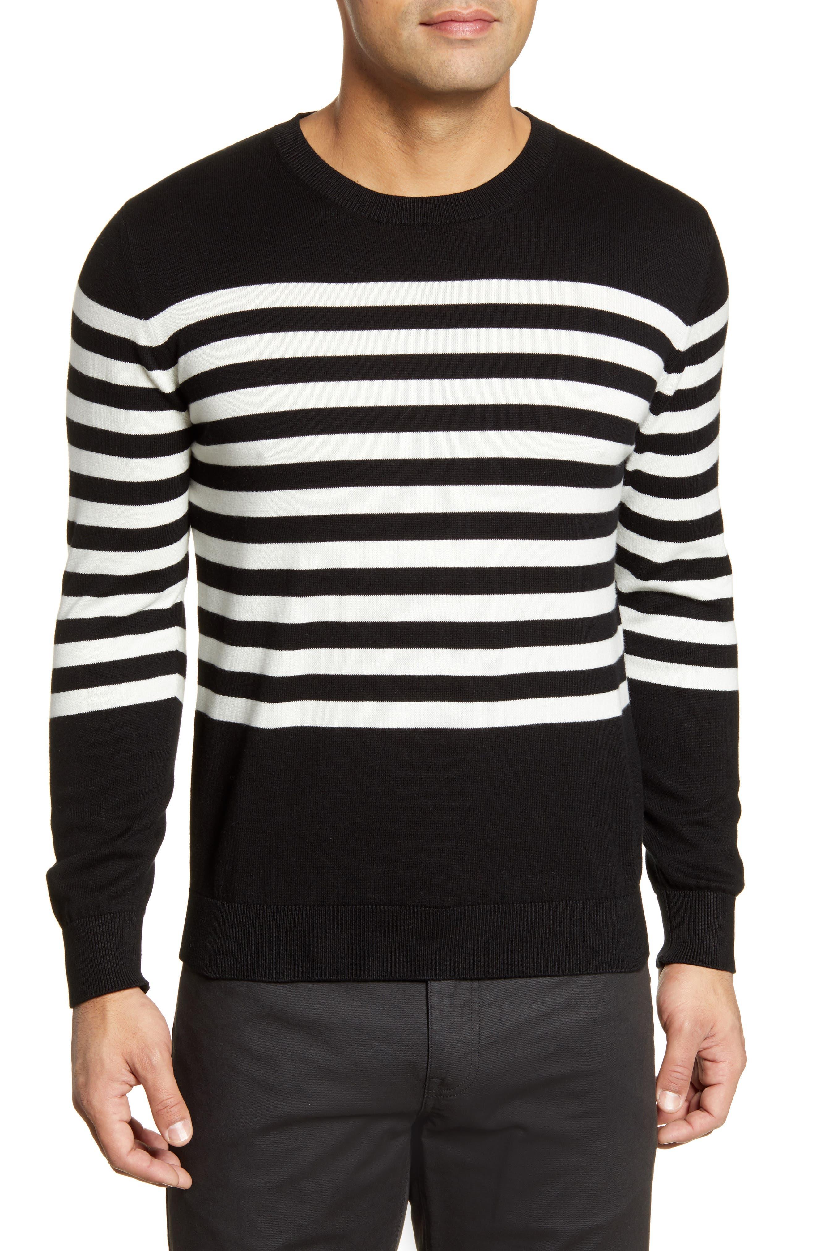Image of Bugatchi Breton Stripe Sweater